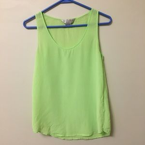 French Connection - Green Top - Size: 2